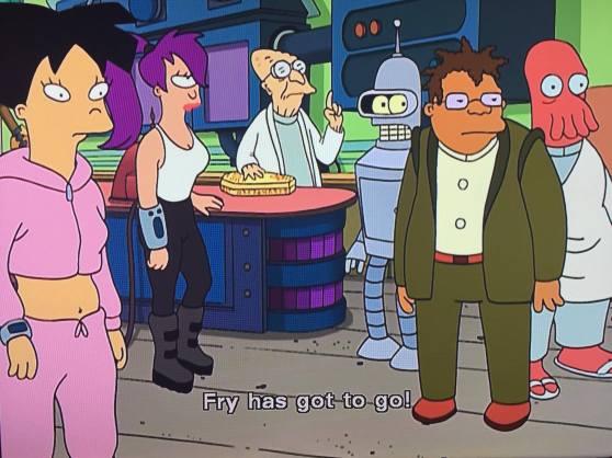 Fry has got to go