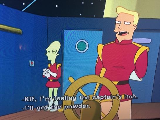 Captain's Itch